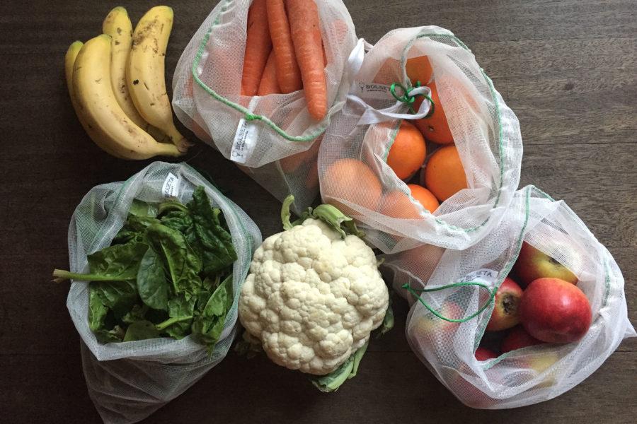 BOLSETA, bolsas reutilizables para frutas, verduras y hortalizas