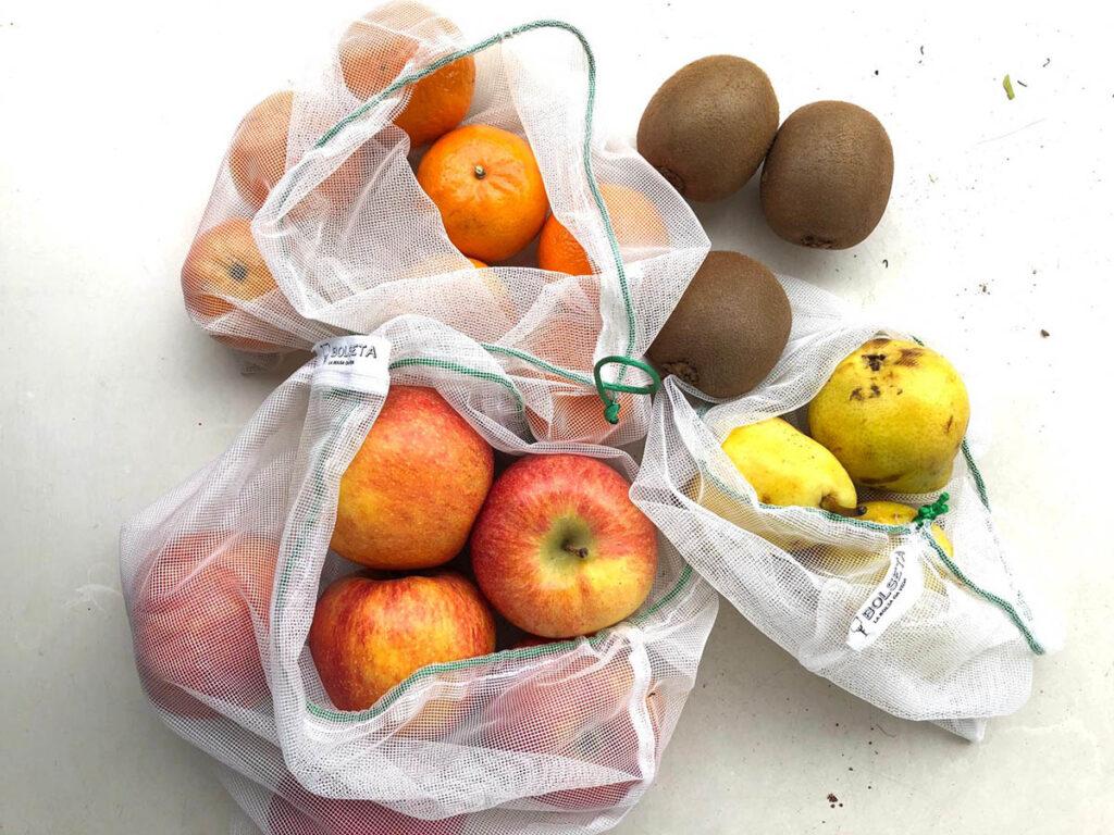 Bolseta, bolsa reutilizable, sostenible y de proximidad