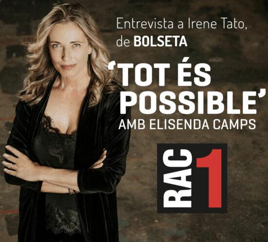 Entrevista en Tot és Possible, de RAC1