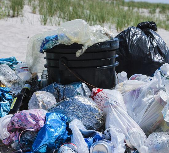 Campaña Julio sin Plástico bolsas de plástico