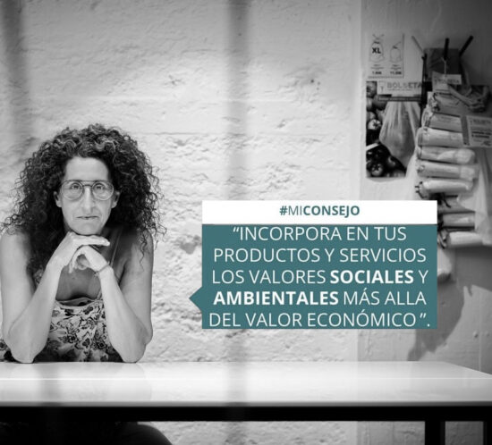 Foro Joven 2030 con la colaboración de Irene Tato, fundadora de BOLSETA