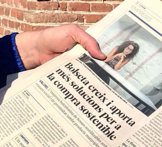 Entrevista a BOLSETA en L'Econòmic, del Punt Avui