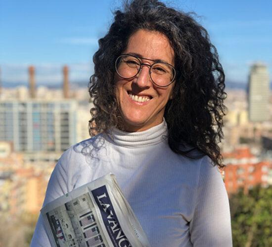 Irene Tato, fundadora de BOLSETA, en La Vanguardia