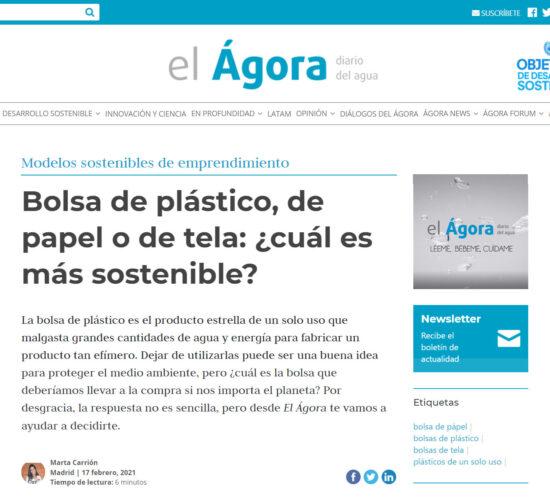 Aparición BOLSETA en El Ágora Diario