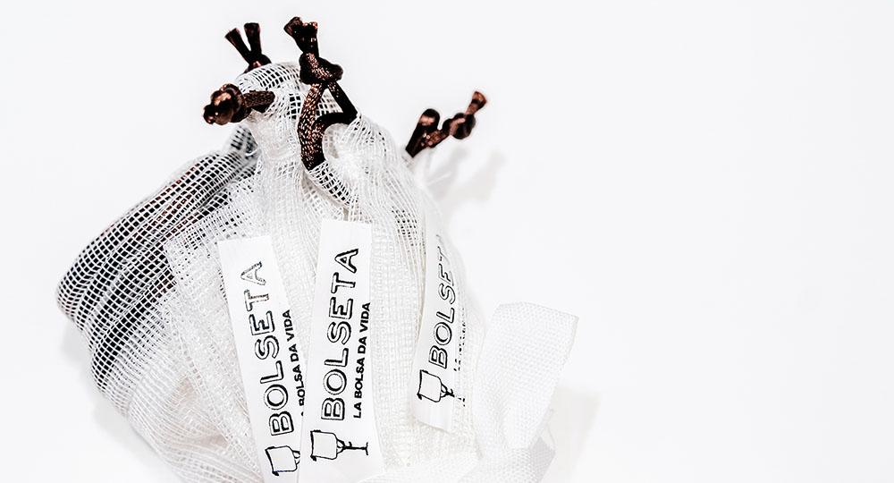 BOLSETA XL cordón marrón