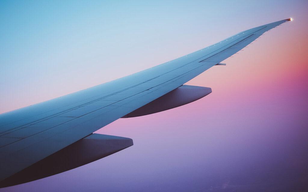 Viajar en avión de forma sostenible