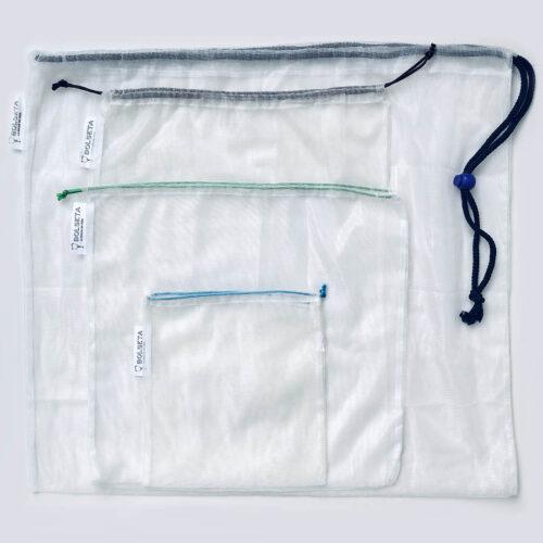 Tamaños bolsas reutilizables BOLSETA